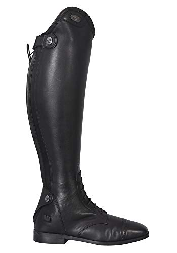 TuffRider Ladies Regal Supreme Field Boots | Color - Black | Size - 10 | Shape - Wide