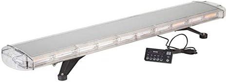 LSHAN COB警告ライトバー、SK-C207ストロボライトカーロングロウ非常灯ハイライトエンジニアリングハイパワールーフルーフランプ