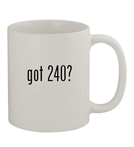 (got 240? - 11oz Sturdy Ceramic Coffee Cup Mug, White)