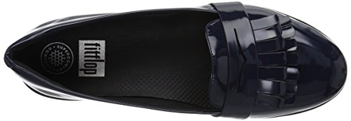 in Patent Navy Loafer Fitflop Fringey Midnight Women's Sneakerloafer Shoes xfIyqw1AT