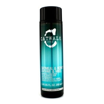 Tigi Catwalk Oatmeal & Honey Nourishing Conditioner (For Dry, Damaged Hair) - 250ml/8.45oz