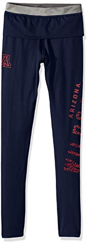 NCAA by Outerstuff NCAA Arizona Wildcats Juniors Elastic Heart Legging, Dark Navy, X-Large(15-17) ()