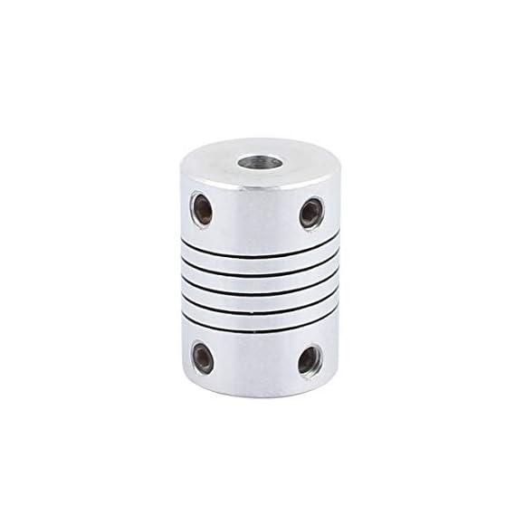 Invento 1Pcs 500mm Trapezoidal Lead Screw T8 8mm Pitch 2mm Lead 8 TR8 + Brass nut for 3D Printer CNC Robotics