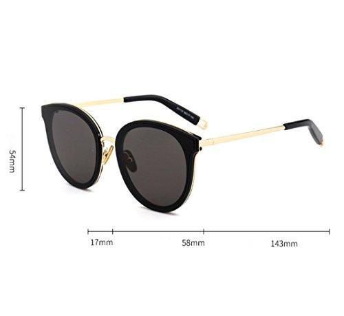 Planas Moda Gafas Protección UV Sol Leopard De Gafas Callejero Gafas Pareja De Sol Estrella Estilo Leopard Gafas CTao wIqXxAH6n6