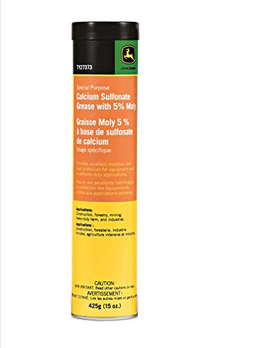 JOHN DEERE Calcium Sulfonate Grease with 5% Moly (CASE of 10 Tubes) ()