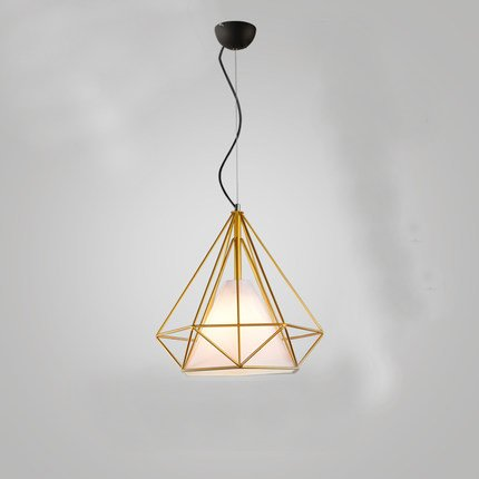 Lilyminiso modern minimalist diamond shape chandelier pendant lamps lilyminiso modern minimalist diamond shape chandelier pendant lamps vintage artistic iron rustic loft bird cage pendant aloadofball Image collections