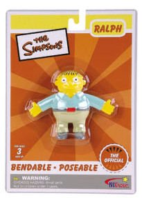 GiveMeToys The Simpsons Ralph Wiggum Bendable -