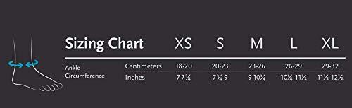 Ossur FormFit Pro Ankle Brace - Breathable Medical Grade Compression Support Sleeve with Cool Vent Technology (Black, Medium, Left) by Ossur (Image #3)
