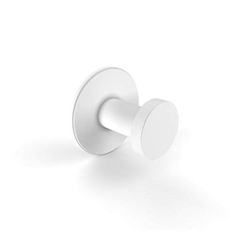 Allied Brass FR-20-WHM Fresno Collection Robe Hook Matte White