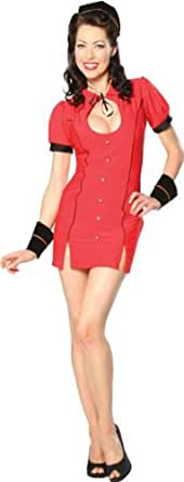 Sexy Bell Hop Costume - Small