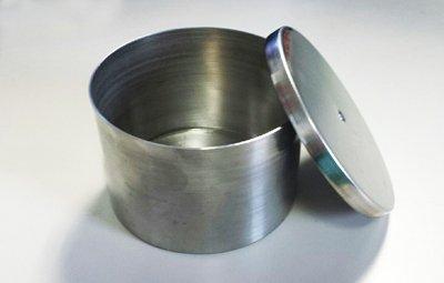 Round Stainless Firing Pan