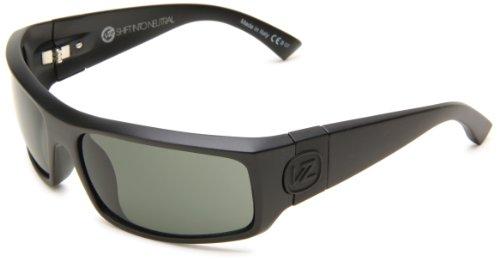 VonZipper Kickstand Rectangular Sunglasses,S.I.N. & Black Satin,One - Von Sunglasses Zipper Case