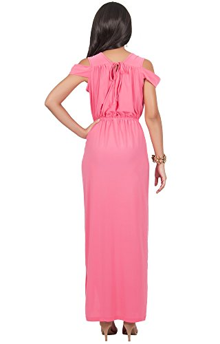 e8fbd804a5af1 ... Off Shoulder Summer Split Slit V-Neck Evening Party Wedding Guest  Bridesmaid Prom Sundress Gown Gowns Maxi Dress Dresses For Women