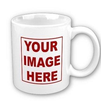 Personalized White Custom Ceramic Coffee product image