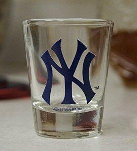 Yankees Shot Glass - 3