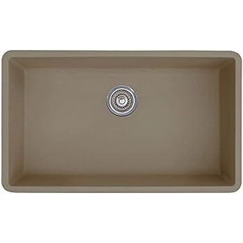 Blanco 441297 Précis Super Single Bowl Sink, Truffle