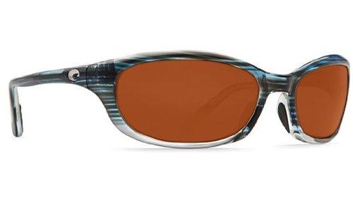 Costa Del Mar Sunglasses - Harpoon- Glass / Frame: Topaz Fade Lens: Polarized Copper Wave 580 Glass (Costa Wave Mar Del)