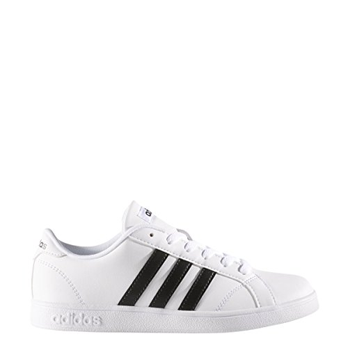 Junior Trainers Football (adidas Performance Unisex-Kids Baseline Sneaker, White/Black/White, 5.5 M US Big Kid)