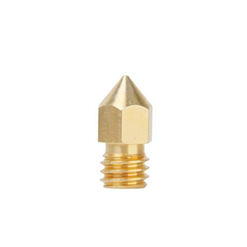 0.5mm Copper Extruder Nozzle Print Head for Makerb...