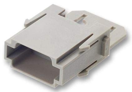 09140014611 - I/O Connector, 6 Contacts, Plug, Firewire IEEE-1394, Han-Modular Series, Cable Mount (Pack of 5) -9140014611