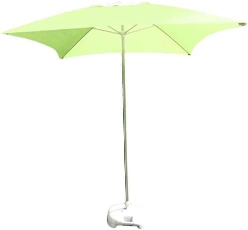 パラソル ガーデンパラソル傘パラソル広場パティオガーデン表傘、パーフェクト屋外庭、ビーチ商業イベント・マーケット、プールサイド (Color : Fruit Green)