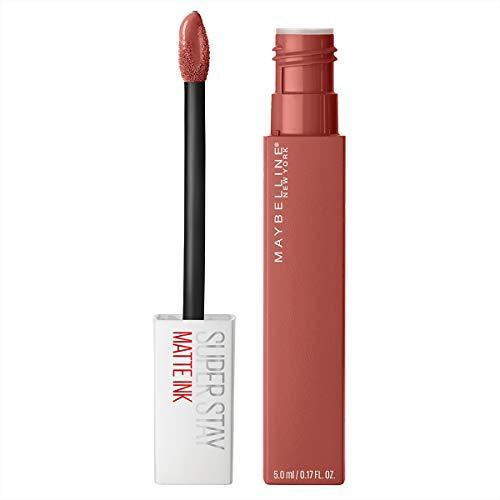 Maybelline SuperStay Matte Ink City Edition Liquid Lipstick Makeup, Pigmented Matte Liquid Lipstick, Long-Lasting Wear, Smooth Matte Finish, Self-Starter, 0.17 Fl Oz, Pack of 1