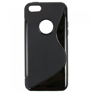 Apple iPhone 5c TekYa Cutout TPU Shield – Black