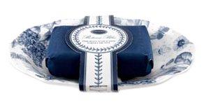 Botanic Blue Soap Dish and Body Soap