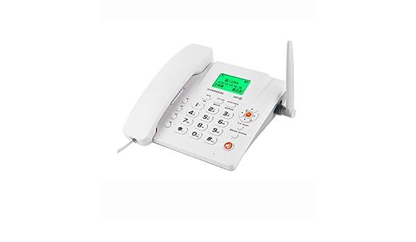 MSNDIAN Tarjeta de teléfono Tarjeta inalámbrica Teléfono Fijo Tarjeta de teléfono Fijo Teléfono móvil Tarjeta SIM Artículos para el hogar teléfono (Color : Blanco): Amazon.es: Hogar