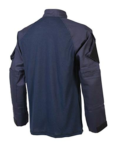3XL Regular Tru-Spec TRU X-Fire 1//4 Zip Combat Shirt 1460008 Mens Navy