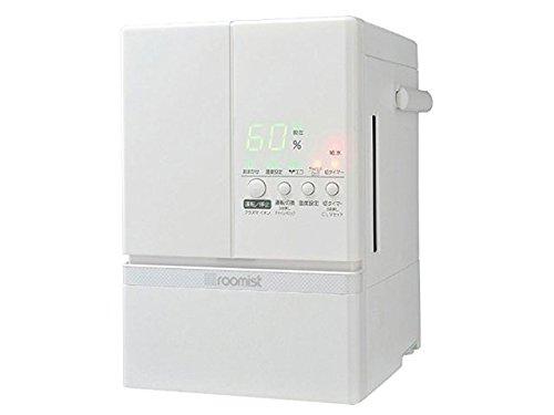 三菱重工 roomist スチームファン蒸発式加湿器 ピュアホワイト SHE60ND-W