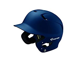 EASTON Z5 2.0 Batting Helmet | Junior | Matte Navy | Baseball Softball | 2019 | Dual-Density Impact Absorption Foam | High Impact Resistant ABS Shell | Moisture Wicking BioDRI Liner