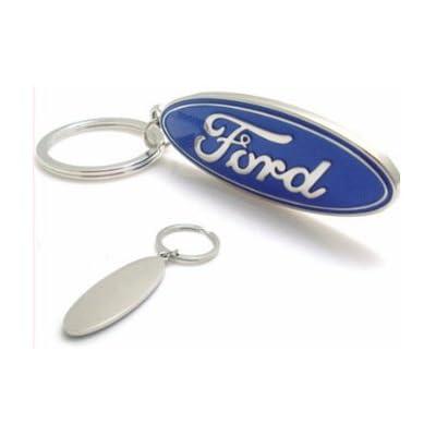 Ford 3D Logo Keychain: Automotive