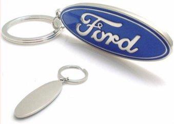 Ford 3D Logo Keychain