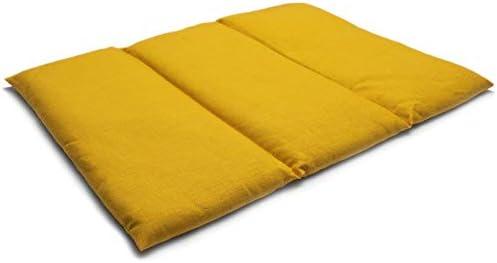Saco térmico de semillas 40x30cm mango | Almohada para la espalda ...
