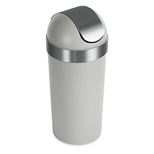 Umbra Venti Swing-Top 16.5-Gallon Kitchen Trash Lid- Large