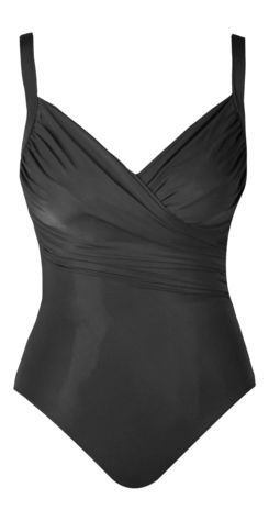 Miraclesuit DD Cup Solid Captiva Black 18DD