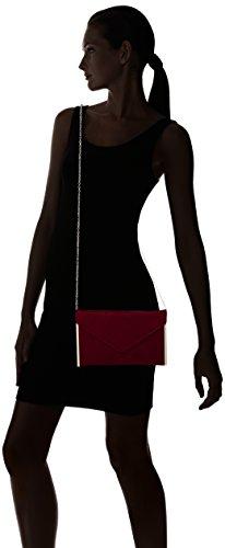 Delgada Promoción Rojo SelxwjlSF6 Envolvente Embrague Para burdeos Gamuza Swankyswans Fiesta De De Embrague Mujer Bolsa RSUwWA