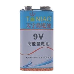 YL tianniao 9v zinc manganesoperoxidasa batería de carbono (1pcs)