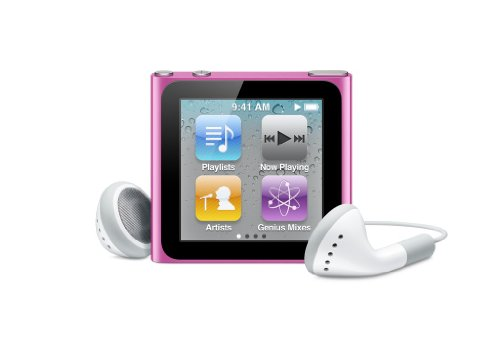 Apple iPod nano 8 GB Pink (6th Generation) (Discontinued by Manufacturer) by Apple