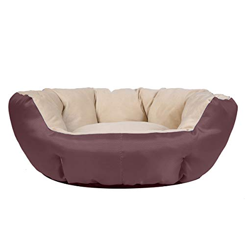 JEMA Dog Bed Non Slip Bottom Small Medium Round...