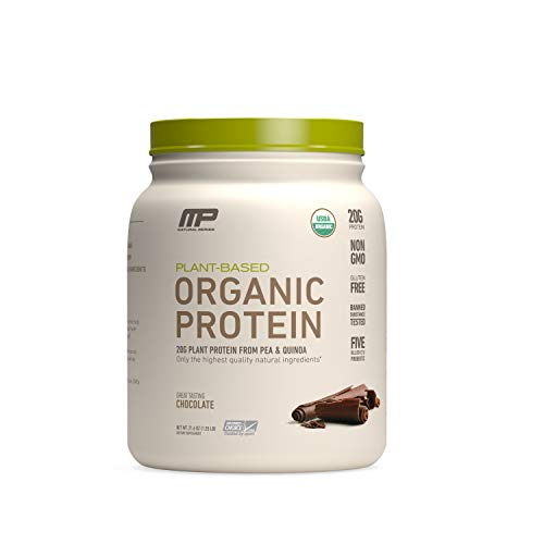 MP Plant Based Protein Powder, Certified USDA Organic, All Natural, Probiotics, Gluten Free, Non GMO, BCAA's,...