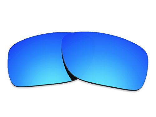 COLOR STAY LENSES 2.0mm Thickness Polarized Replacement Lenses for Oakley Turbine XS OJ9003 Blue Mirror Coatings by COLOR STAY LENSES