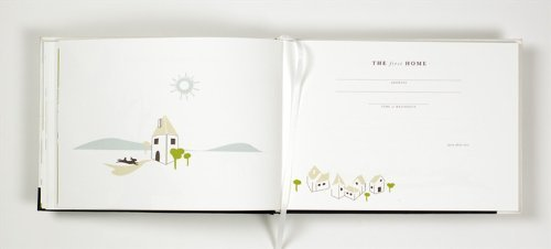 Binth Handmade Baby Book with Keepsake Box (Green) by Binth (Image #5)