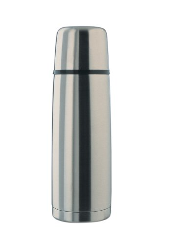 Alfi Top Therm 3/4-Liter Vacuum Bottle with Automatic Lid by Alfi Carafes