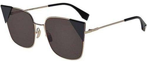 New Fendi LEI FF 0191/S 000/2M A light gold/brown Sunglasses