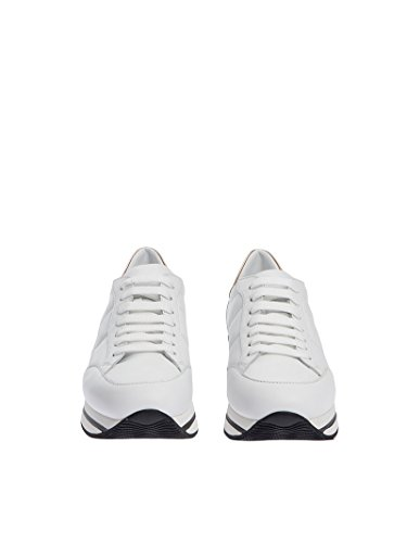 Hogan Damen Hxw2220j060gga09ki Weiss Leder Sneakers