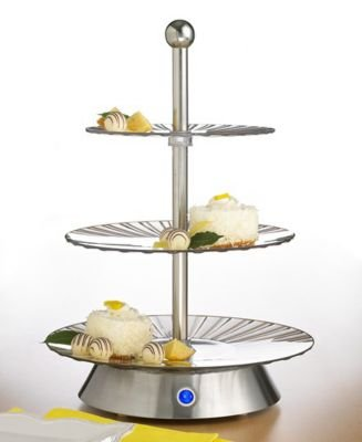 Sensio 13111 Bella Cucina 3-Tier Rotating Serving ()