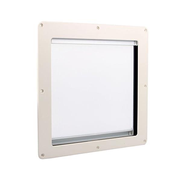 310ILTfm2UL Dachfenster Remis Remitop Vista 40 x 40 cm Klar + Dekalin Dichmittel für Wohnwagen oder Wohnmobil
