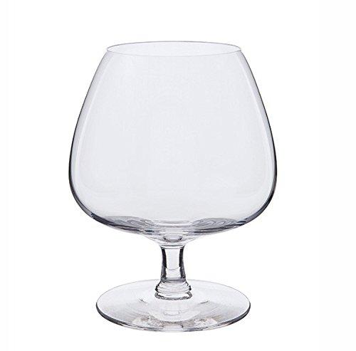 Dartington Rachael Brandy Glass, Clear, Pack of 2